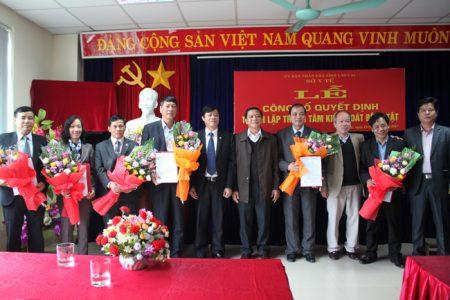 Công bố thành lập Trung tâm kiểm soát bệnh tật tỉnh Lào Cai