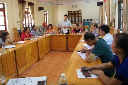 Giám sát công tác phòng chống Sốt xuất huyết tại huyện Bảo Yên
