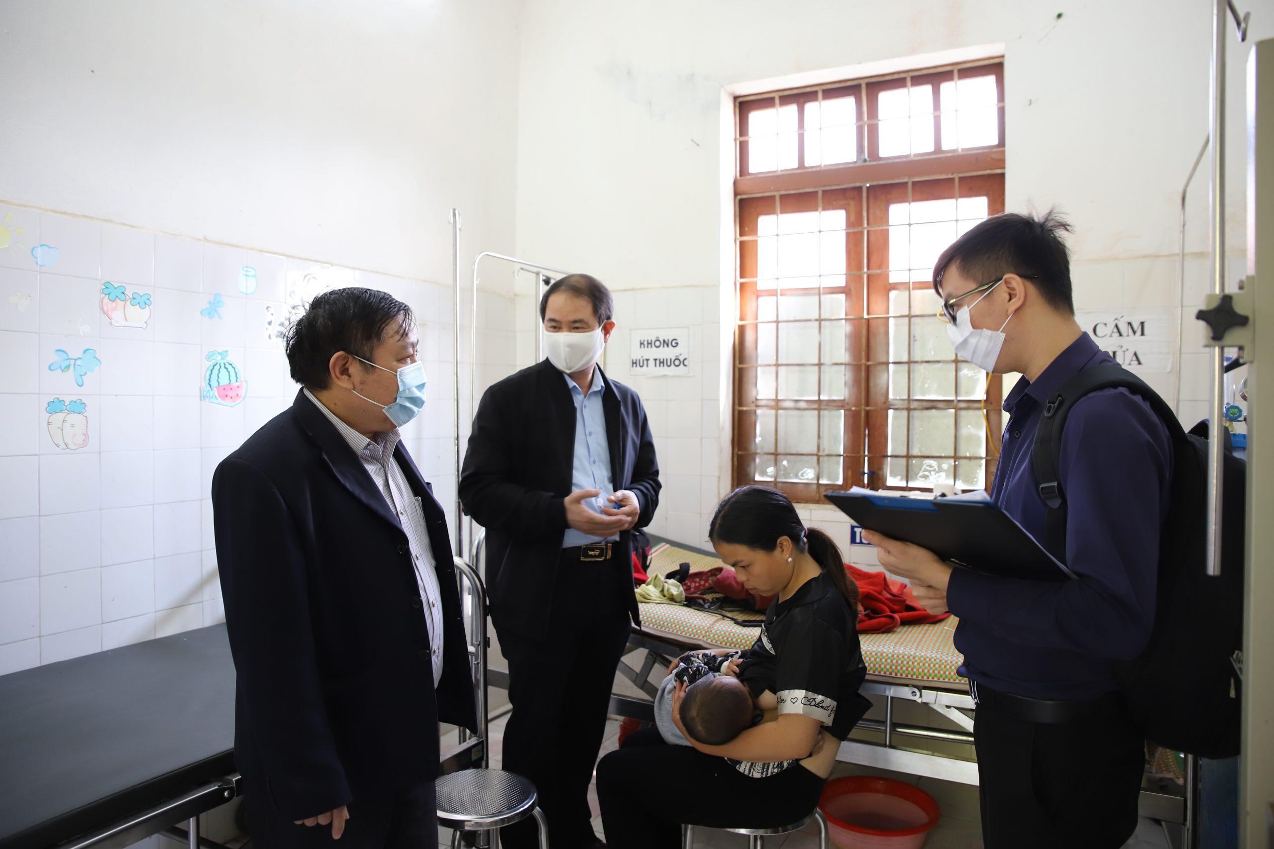 Giám sát công tác kiểm soát và đáp ứng phòng chống bệnh sởi tại Huyện Bắc Hà, Huyện Si Ma Cai